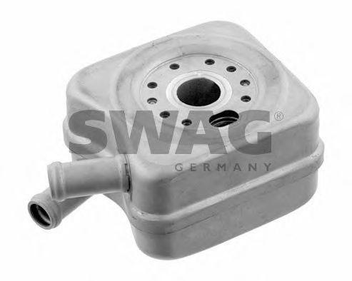 масляный радиатор, двигательное масло SWAG арт. 30931110