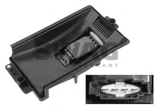 Блок управления, отопление / вентиляция SWAG арт. 30933154