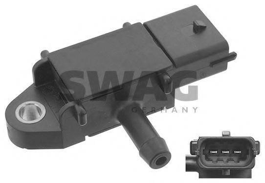 Датчик, давление выхлопных газов SWAG арт. 40945772