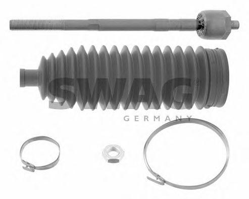 Ремкомплект, осевой шарнир поперечная рулевая тяга SWAG арт.