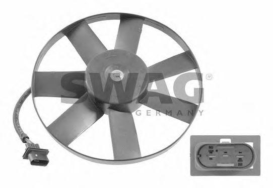 Вентилятор, охлаждение двигателя SWAG арт.