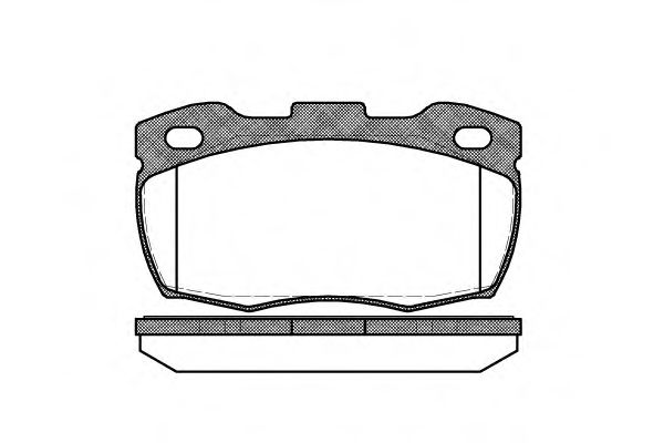 Комплект тормозных колодок, дисковый тормоз ROADHOUSE арт. 226610
