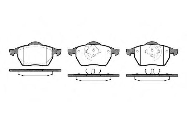 Комплект тормозных колодок, дисковый тормоз ROADHOUSE арт. 239001