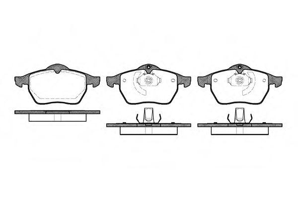 Комплект тормозных колодок, дисковый тормоз ROADHOUSE арт. 239010