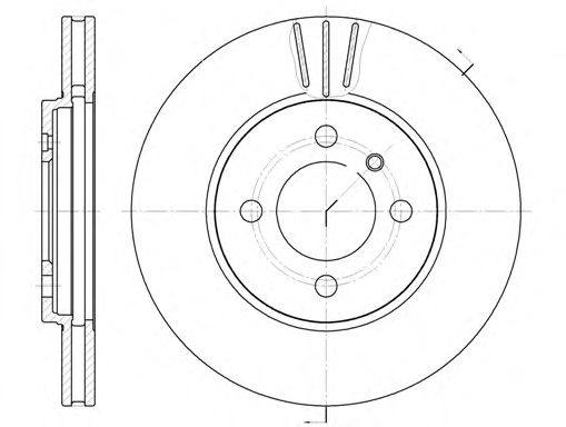 Тормозной диск ROADHOUSE арт. 606210