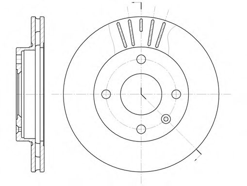 Тормозной диск ROADHOUSE арт. 609610