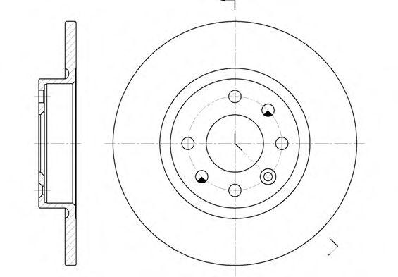 Тормозной диск ROADHOUSE арт. 620900