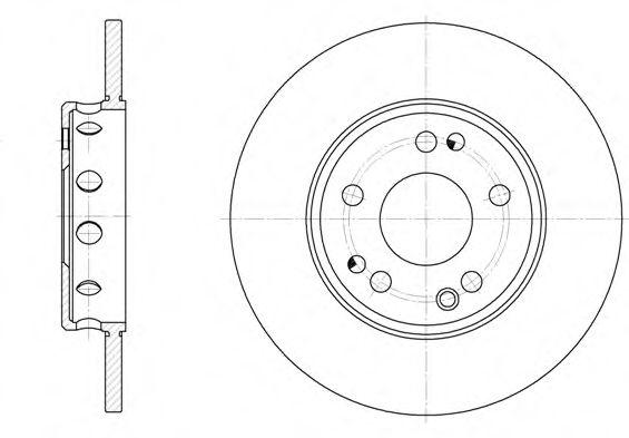 Тормозной диск ROADHOUSE арт. 631100
