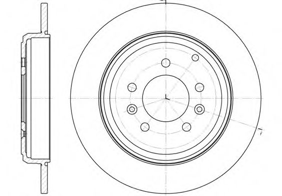Тормозной диск ROADHOUSE арт. 633000