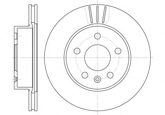 Тормозной диск ROADHOUSE арт.