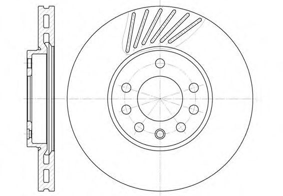 Тормозной диск ROADHOUSE арт. 649410