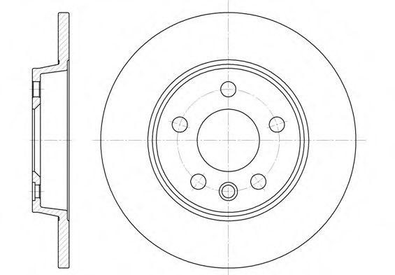 Тормозной диск ROADHOUSE арт. 655800