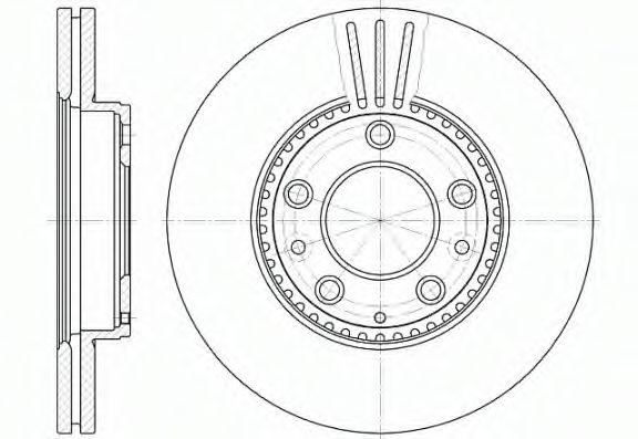 Тормозной диск ROADHOUSE арт. 667310