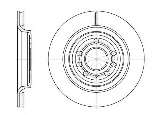 Тормозной диск ROADHOUSE арт. 668610