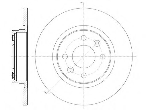 Тормозной диск ROADHOUSE арт. 680900