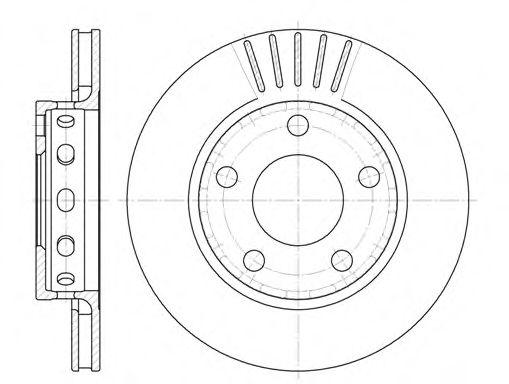 Тормозной диск ROADHOUSE арт. 683510