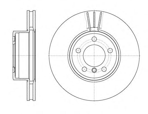 Тормозной диск ROADHOUSE арт. 686710