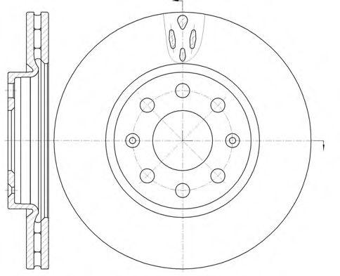 Тормозной диск ROADHOUSE арт. 698110