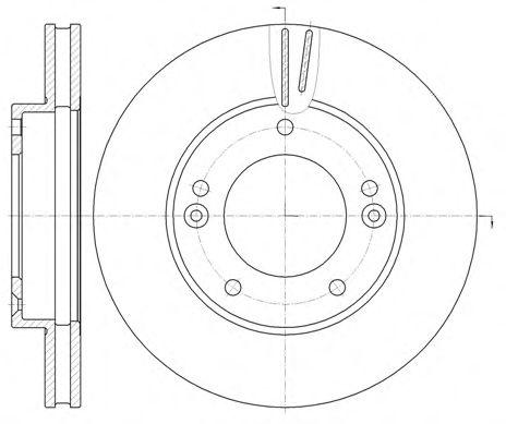 Тормозной диск ROADHOUSE арт. 699210