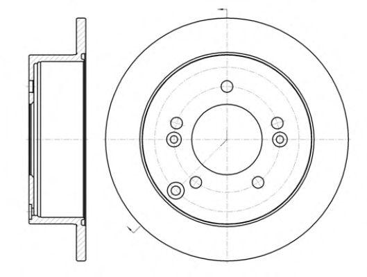 Тормозной диск ROADHOUSE арт. 6139900