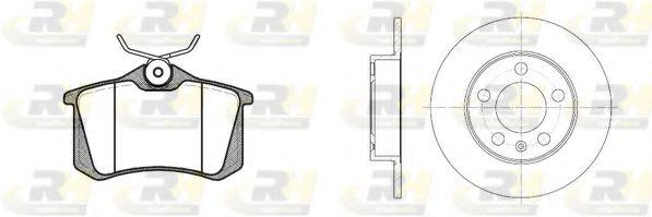 Комплект тормозов, дисковый тормозной механизм ROADHOUSE арт. 826301