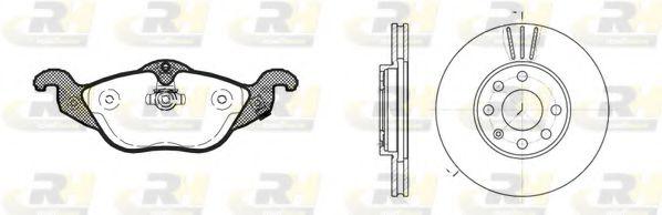Комплект тормозов, дисковый тормозной механизм ROADHOUSE арт. 868400