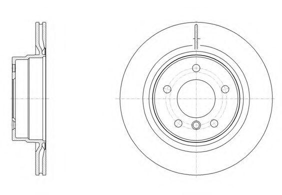 Тормозной диск ROADHOUSE арт. 6149510