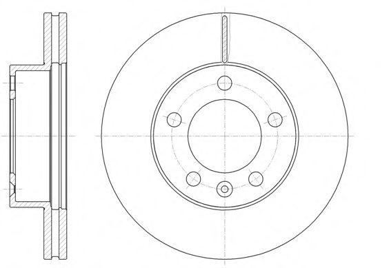 Тормозной диск REMSA арт. 6147510