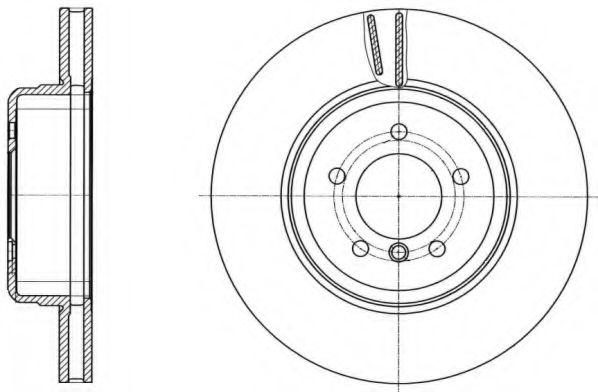Тормозной диск REMSA арт. 6149110