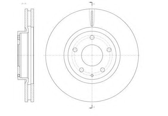 Тормозной диск REMSA арт. 6152010