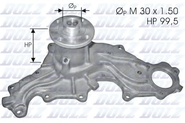 Водяной насос DOLZ арт. F120