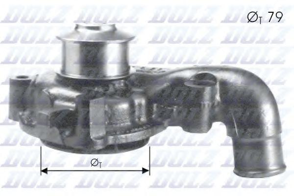 Водяной насос DOLZ арт. F155