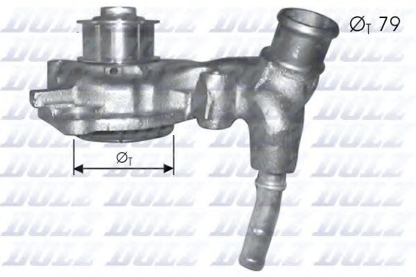 Водяной насос DOLZ арт. F166
