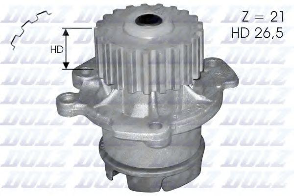 Насос водяной Ваз 2108-99 (трапециевидный зуб) Dolz DOLZ арт. L123