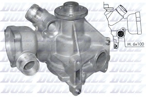 Водяной насос DOLZ арт. M177