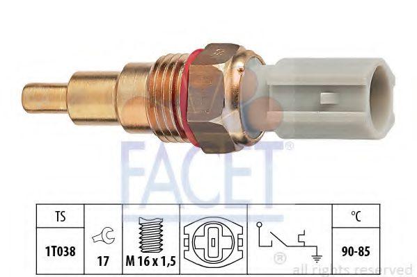 Термовыключатель, вентилятор радиатора FACET арт.