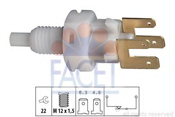 Выключатель фонаря сигнала торможения FACET арт. 71083