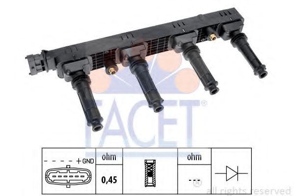 Котушка запалювання FACET 96407