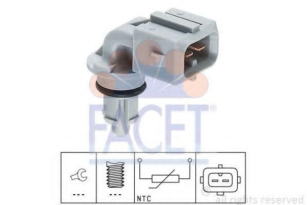 Датчик, температура впускаемого воздуха FACET арт. 104002