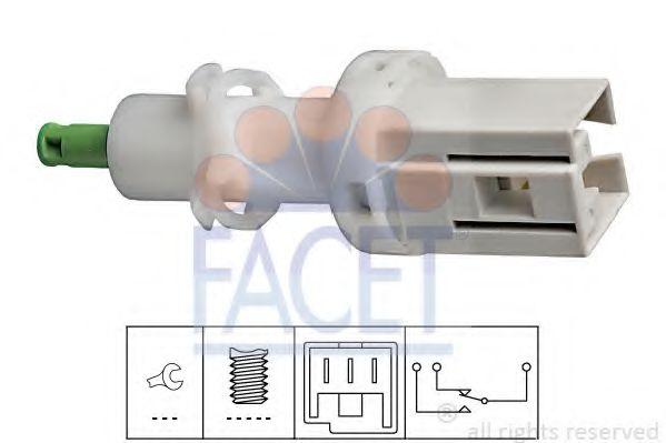 Выключатель фонаря сигнала торможения FACET арт. 71069