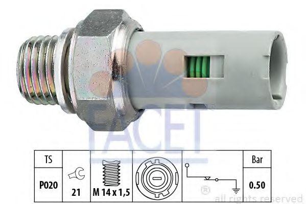 Датчик давления масла FACET арт. 70151