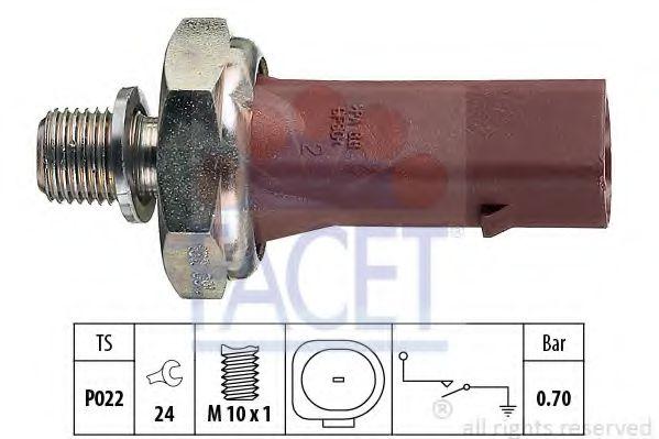 Датчик давления масла FACET арт. 70132