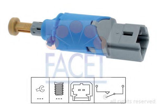 Выключатель, привод сцепления (Tempomat) FACET арт. 71224
