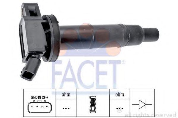 Котушка запалювання FACET 96366