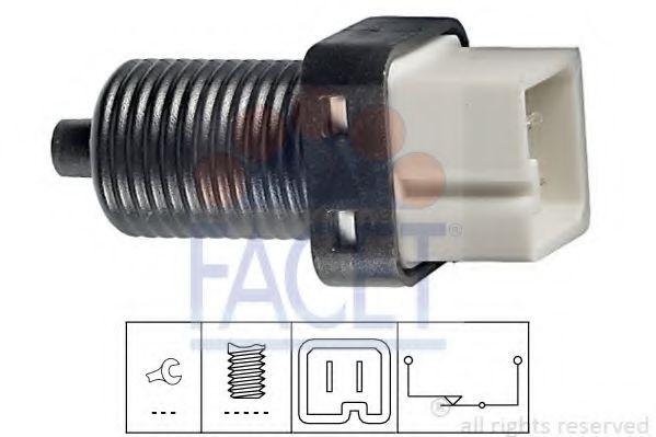Выключатель фонаря сигнала торможения FACET арт. 71091