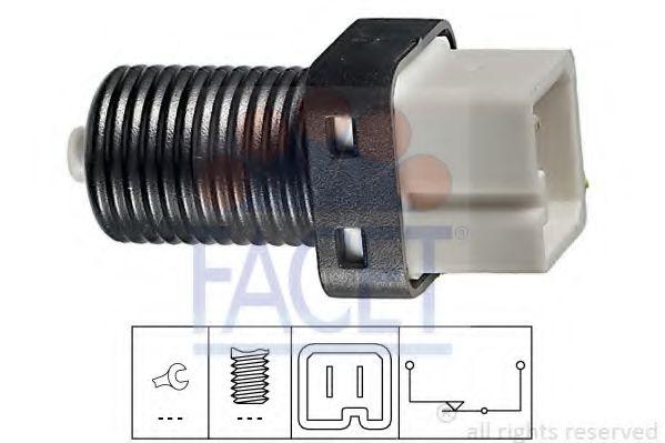 Выключатель фонаря сигнала торможения FACET арт. 71217