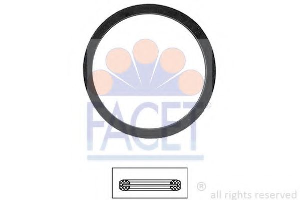 Прокладка, термостат FACET арт. 79568