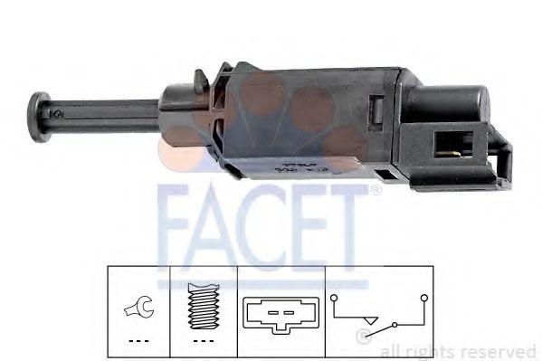 Выключатель, привод сцепления (Tempomat) FACET арт.