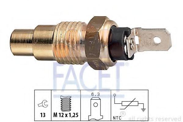Датчик, температура охлаждающей жидкости FACET арт. 73078