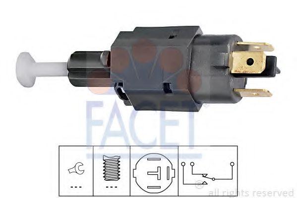 Выключатель фонаря сигнала торможения FACET арт. 71082